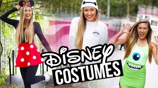 DIY DISNEY/PIXAR HALLOWEEN COSTUMES: Baymax, Minnie & Monsters Inc. | LaurDIY
