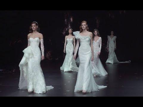Abiti da Sposa Pronovias 2020, fluttuano nel cielo le donne di Hervé Moreau