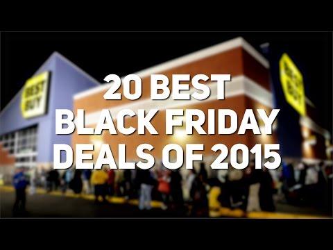 Top 20 Black Friday Deals of 2015!