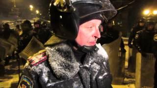 """Интервью с полковником ВВ МВД Украины 2. Майдан, """"Беркут"""""""