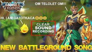 Mobile Legends - New Battleground Song and Hear what Gatotkaca Say! [Clear Sound Recording]