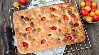ФОКАЧЧА ☆ Рецепт для ЛЕНИВЫХ;) ☆ Italiana FOCACCIA ricetta