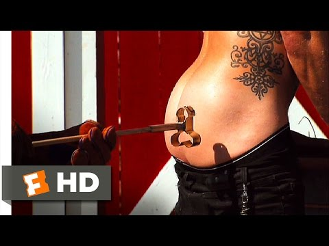 Jackass Number Two (2/8) Movie CLIP - Cattle Brand (2006) HD