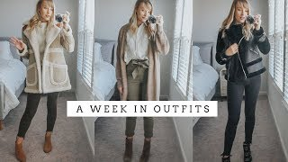 Easy Winter Outfit Ideas | A Week In Outfits