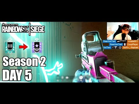 Controller Vs Mouse - Solo - Road To Diamond - Day 5 - Season 2 - Rainbow Six Siege