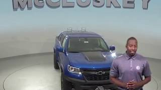 190274 New 2019 Chevrolet Colorado ZR2 4WD Crew Cab Blue Test Drive, Review, For Sale -