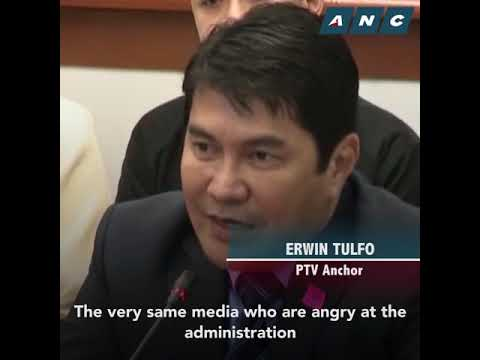 [ABS-CBN]  What Tulfo siblings told senators on ad deal