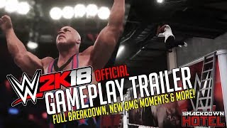 WWE 2K18 GAMEPLAY TRAILER BREAKDOWN!