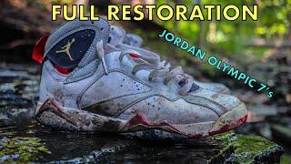 277b64595717f7 FULL RESTORATION JORDAN OLYMPIC 7 s