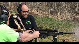2019 Test Fire of 56 Machine Guns - One Take, No Edits