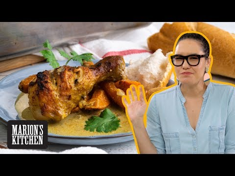 Vietnamese chicken curry but not as you know it | Vietnamese Chicken Curry Tray Bake