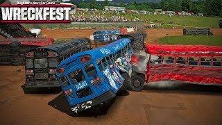 Wreckfest - Episode 31 - School Bus Figure 8 w/Jeff