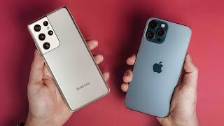 Samsung Galaxy S21 Ultra 5G vs Apple iPhone 12 Pro Max: Spec Comparison