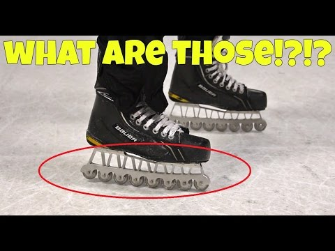 Synthetic Ice Skates – AGILITY BLADES Review