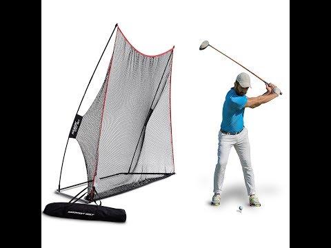 Review:  Rukket Haack Golf Net By SEC Coach Chris Haack 10 X 7ft