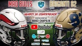 Mad Bulls Barletta vs Briganti 82 Napoli