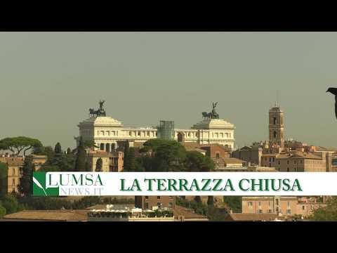 Roma, chiusa la terrazza del Giardino degli aranci