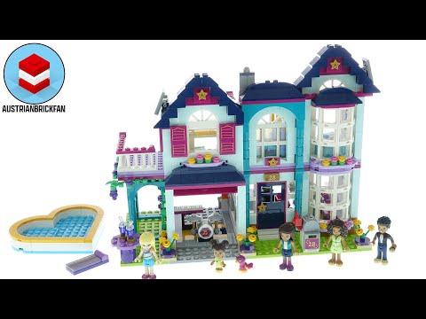Vidéo LEGO Friends 41449 : La maison familiale d'Andréa