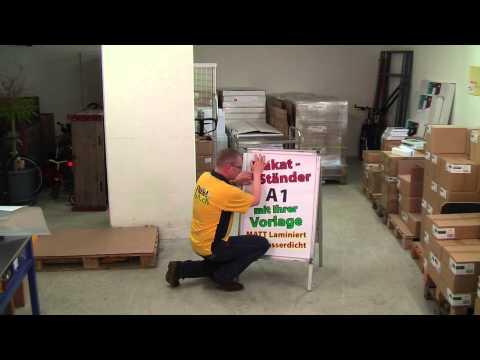 Plakatständer und Plakatdruck- FREMA Schläppi AG