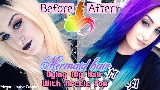 My Mermaid Hair | Arctic Fox Hair Dye Review