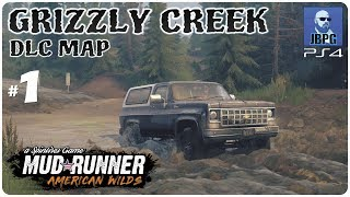 Spintires: Mudrunner PS4 - American Wilds: Grizzly Creek Part 1