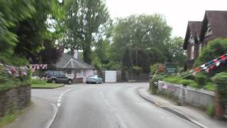preview picture of video 'Albury - More bunting than any other village in UK'