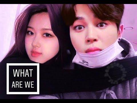 🌷Jirose🌷Rose (blackpink) & Jimin (bts) • What are we • [fmv]