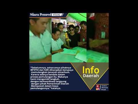 Jenazah Pekerja Migran Indonesia asal Mempawah Dipulangkan ke Rumah Duka