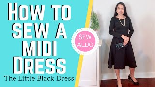 HOWTO DIY Meghan Markle Style Dress, SEW ALDO