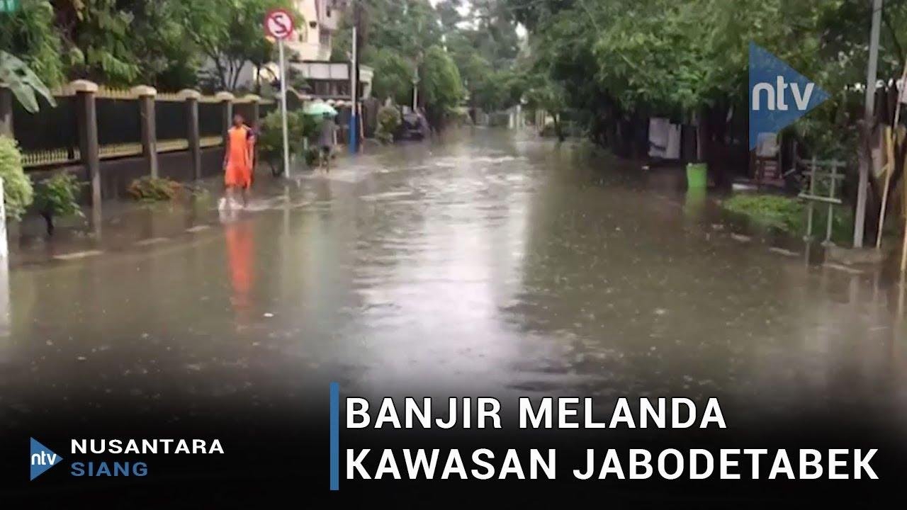Hujan Lebat, Banjir Landa Kawasan Cempaka Putih