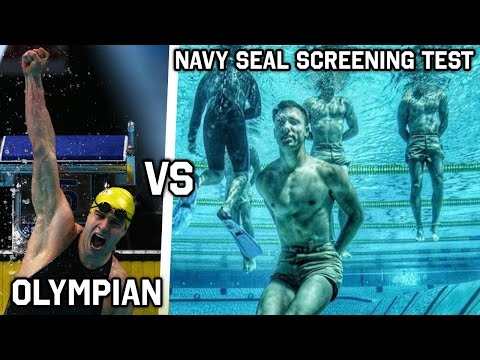 Olympic Swimmer Attempts the Navy Seal Screening Test