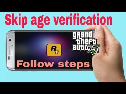 GTA 5 Auto Skip age verification on  Android Follow Steps