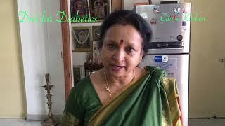 Diet For Diabetics!   Indian Vegetarian Diabetic Friendly Diet !!
