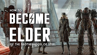 How To Become Elder Of The Brotherhood Of Steel - Fallout 4 Cut Content & Mods