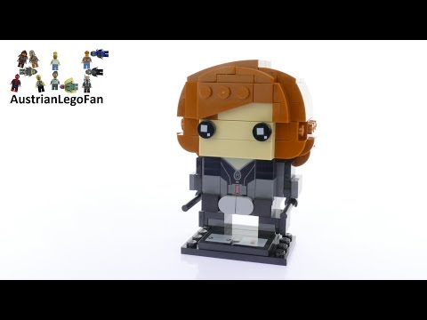 Vidéo LEGO BrickHeadz 41591 : Black Widow