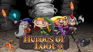 Official Heroes of Loot 2 (by Orangepixel / Pascal Bestebroer) Launch Trailer (iOS/Android/Steam)