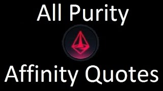 Civilization Beyond Earth All Purity Affinity Quotes / Levels