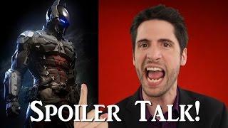 Batman: Arkham Knight SPOILER talk