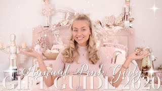 The Annual PINK GIRLY Gift Guide 2020! ~ Freddy My Love