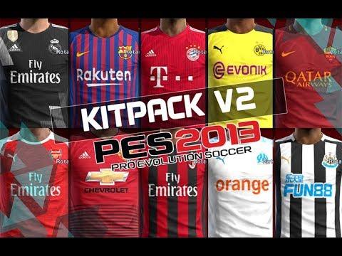 PES 2013 • Manchester United Full GDB Kits 2018/2019
