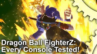 [4K] Dragon Ball FighterZ: PS4/PS4 Pro vs Xbox/Xbox One X - Comparison + Frame-Rate Test