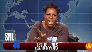 Weekend Update: Leslie Jones on 420Singles.com - SNL