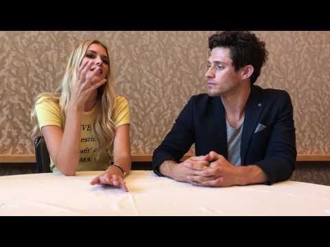 "Emma Ishta & Kyle Harris (""Stitchers"") Interview: SDCC 2017"