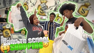 I TOOK MY SIBLINGS BACK TO SCHOOL SHOPPING! *They went crazy*