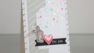 Handmade Card Using A Sketch