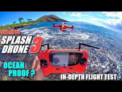 SwellPro Waterproof SPLASH DRONE 3 Review – Part 2 Flight Test – Ocean Proof?