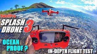 SwellPro Waterproof SPLASH DRONE 3 Review - Part 2 Flight Test - Ocean Proof?