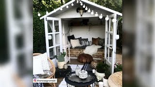 5 Super Chic Ways To Re-think The Garden Shed