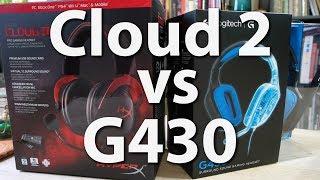 Logitech G430 vs HyperX Cloud 2 - Vergleich der beliebtesten Gaming-Headsets