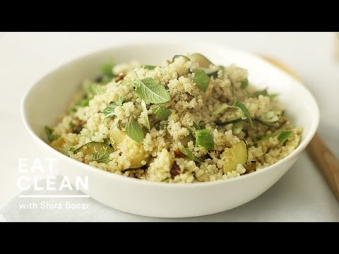 Gluten-Free Zucchini and Quinoa Salad – Eat Clean with Shira Bocar